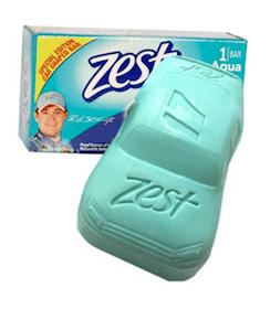 Zest Car Shaped Soap Next Week