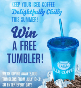 2,000 Win International Delight Tumbler ($5 Value!)