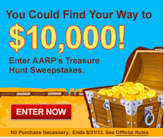 62 Win $200 Apple Gift Cards in the AARP Treasure Hunt Sweeps & Instant Win Game
