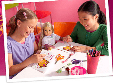 American Girl Doll In-Store Event: Saige's Art w/ Crayola Model Magic