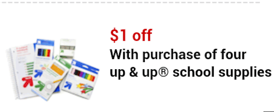 Glue Sticks and Rulers at Target (With Mobile Coupon)