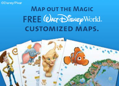 Customized Disney Park Maps (Magic Kingdom, Epcot + More)