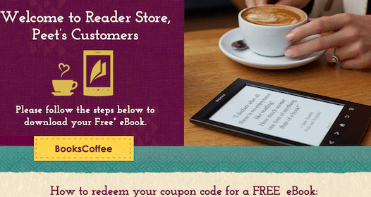 eBook of Your Choice From Sony & Peets