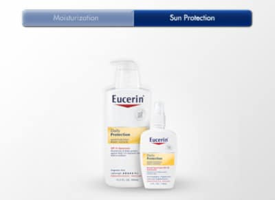Eucerin Sunscreen Lotion Sample