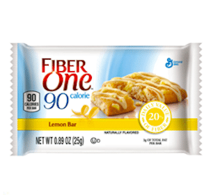 Fiber One Lemon bar for Pillsbury Members