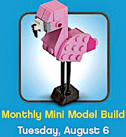 Lego Mini Model Flamingo (8/6)