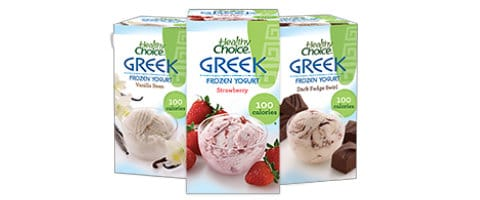 Healthy Choice Frozen Yogurt $1 Coupon