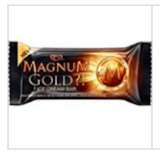 Magnum Gold Ice Cream Bar at Turkey Hill Stores