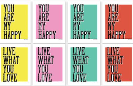 Summer of Love Printables