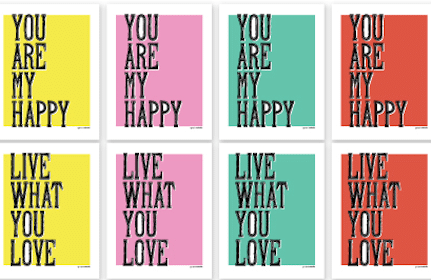 Summer of Love Printables