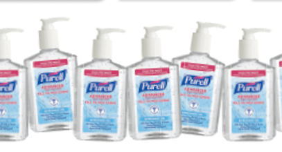 Purell Hand Sanitizer on July 15