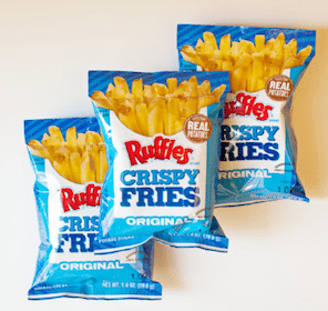Bag of Ruffles Crispy Fries at 7-Eleven (Mobile Coupon)