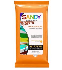 Sandy Extra Strength Multi-Purpose Wipes