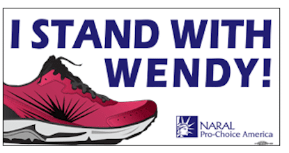 I Stand with Wendy Sticker
