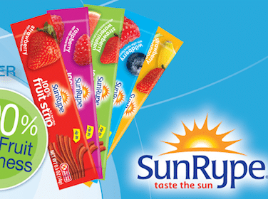 SunRype FruitStrip (Coupon)