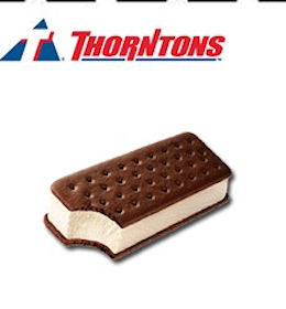 King Size Ice Cream Sandwich at Thorntons Stores