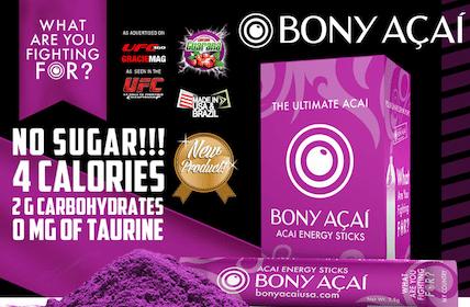 Bony Acai Energy Sticks Sample
