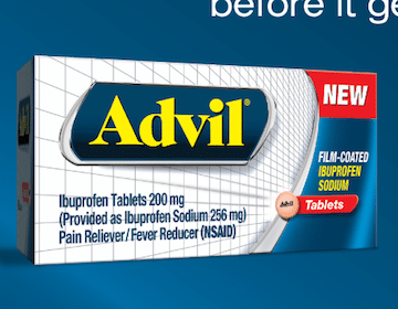 Fast Acting Advil Sample