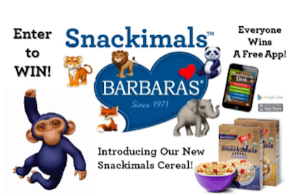 Barbara's Bakery Sweeps: 500 Win a Beanie, Reusable Snack Bag or Tote Bag