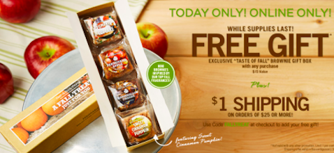 Bath & Body Works Coupon: Taste of Fall Brownie Gift Box with ANY Purchase ($15 Value!)