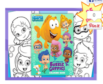 Bubble Guppies Fan Club: FREE 25-page Coloring Book, Fan Club Kit, + More