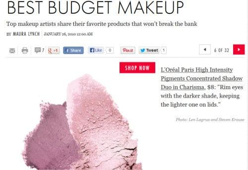 save on makeup