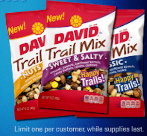 5 oz David Trail Mix at Aplus Sunoco Stores