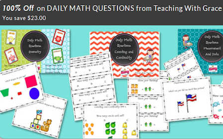 Kindergarten Math Pack (reg $23)