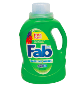 Fab Laundry Detergent at Family Dollar