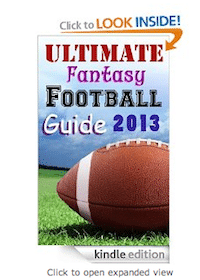 eBook: Ultimate Fantasy Football Guide 2013