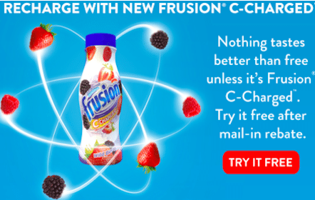 Frusion C-Charged 4-Pack Mail in Rebate