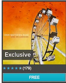"Mp3 Album: Dave Matthews Band ""Live on Lakeside"""