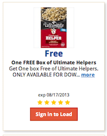 Box of Ultimate Hamburger Helper at Kroger
