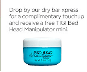 Touchup & TIGI Bed Head Manipulator Mini at JCPenney Salons