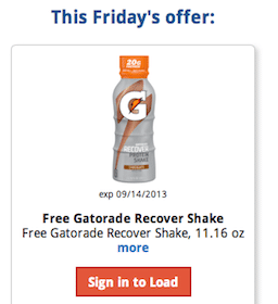 Gatorade Recover Protein Shake At Kroger (eCoupon – Must Load Today!)