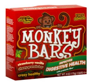 Monkey Bars Granola Bars at Target