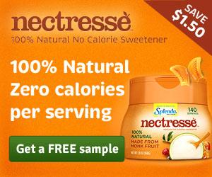 FREE Sample of NECTRESSE™ Sweetener