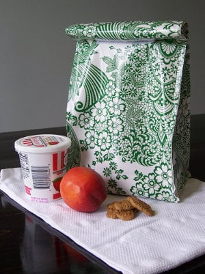 DIY lunch bags