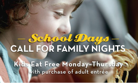 Olive Garden Coupon: Kid's Meal with Adult Dinner Entree