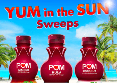 Win a Trip to Vegas, Flip Flops, Beach Balls + More from Pom Wonderful (Over 1,500 Winners!)