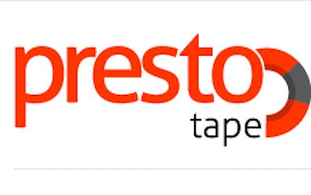 Presto Tape Sample