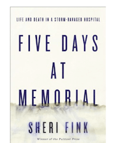 Win an Advance Reader's Copy of Five Days at Memorial (100 Winners!)