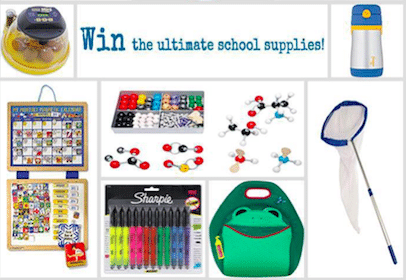 Red Tricycle Back to School Sweeps: Win $1,000 of School Supplies for Your Kids & Their Classroom