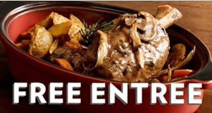 Romano's Macaroni Grill Coupon: Buy 1 Braiser Entree, Get 1 Entree FREE