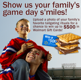 "Kraft ""Anytime S'mores Everyday S'miles"" Contest: Win $500, $250 or $150 Walmart Gift Card"