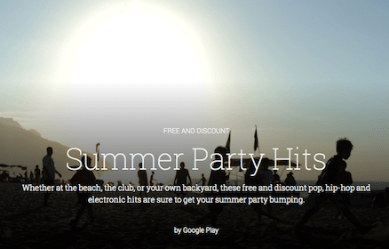 Downloads of Summer Party Songs