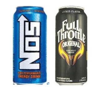 Kroger & Affiliates Coupon: FREE Full Throttle or NOS Energy Drink