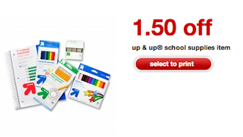 Up & Up School Supplies at Target