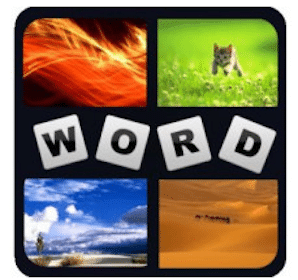 Andrid App: 4Pics 1Word- What's the Word Init
