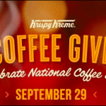 Don't Miss out on FREE Coffee on National Coffee Day 9/29